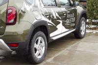Расширители колесных арок (4 шт.) Renault Duster 2015+