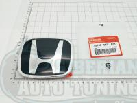 Черная эмблема Type R H для автомобилей Honda 75700-S5T-E01 123*99