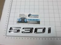 Надпись, шильдик с клеевой основой 530i для автомобилей BMW