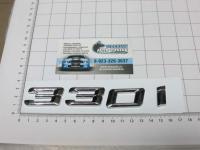Надпись, шильдик с клеевой основой 330i для автомобилей BMW