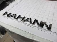 Шильдик с клеевой основой Hamann большой для автомобилей Mercedes-Benz / BMW