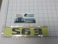 Шильдик с клеевой основой S63 на багажник для Mercedes-Benz A222 817 00 15