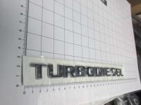 Шильдик с клеевой основой Turbodiesel на багажник для Mercedes-Benz А203 817 30 15