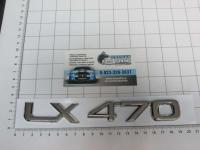Шильдик с клеевой основой LX 470 для автомобилей Lexus