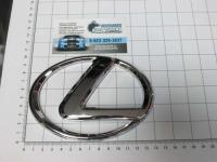 Эмблема шильдик логотип Lexus с клеевой основой 140х100 мм