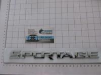 Эмблема шильдик SportAge для автомобилей KIA на багажник 263*21 мм