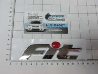 Эмблема шильдик Fit (красный) для автомобилей Honda на багажник 75722-SAG-H00