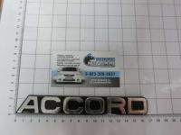 Эмблема шильдик Accord для автомобилей Honda на багажник 75722-SV4-000