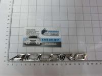 Эмблема шильдик Accord для автомобилей Honda на багажник 75722-S84-A00 / 75722-SDA-A00