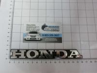 Эмблема шильдик Honda на багажник 75711-ST3-E01