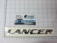 Эмблема шильдик Lancer на багажник большая 185 * 20 мм