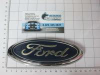 Эмблема шильдик логотип Ford на багажник 148 х 60 мм