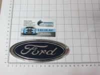 Эмблема шильдик логотип Ford на решетку 150 х 59 мм