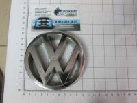 Эмблема шильдик логотип Volkswagen на решетку 100 мм 191853601H