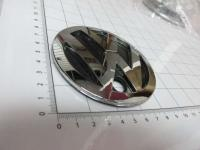 Эмблема шильдик логотип Volkswagen на багажник 90 мм 32475610