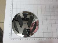 Эмблема шильдик логотип Volkswagen на решетку 120 мм 1T0853630A