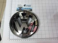 Эмблема шильдик логотип Volkswagen на решетку 145 мм 3BD853601A