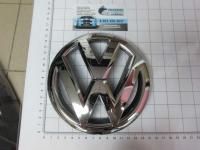 Эмблема шильдик логотип Volkswagen на решетку 150 мм 3BD853601B-2
