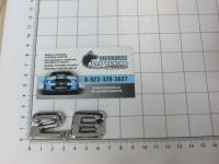 Эмблема шильдик 2.6 на багажник Audi 65*23