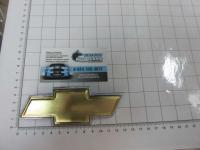 Эмблема шильдик логотип на решетку CHEVROLET золото 130*48 мм