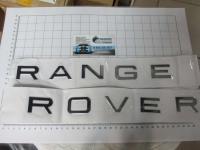 Надпись на капот или багажник Range Rover хром 475*30 мм