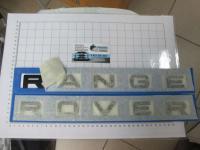 Надпись на капот или багажник Range Rover черная 475*30 мм (бол. буквы)