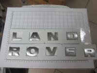 Надпись на капот или багажник Land Rover хром 475*30 мм (бол. буквы)
