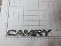 Эмблема шильдик на багажник Camry хром 160*22 мм