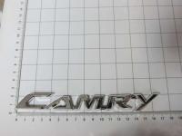 Эмблема шильдик на багажник Camry хром 170*22 мм