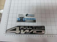 Эмблема шильдик на багажник 4 WD FULLTIME для автомобилей Toyota 170*35 мм