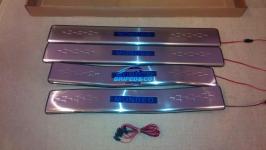 Светодиодные накладки на пороги Ford Mondeo 2008-2013