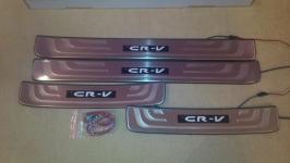 Светодиодные накладки на пороги Honda CR-V 2006 - 2015