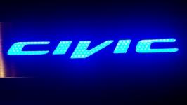 Светодиодные пороги Honda Civic 4D 9-ое поколение
