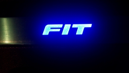 Светодиодные пороги Honda Fit 2014